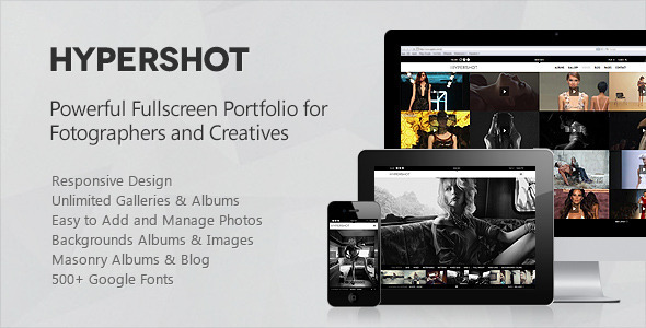 Hypershot – Photography Portfolio WordPress Theme