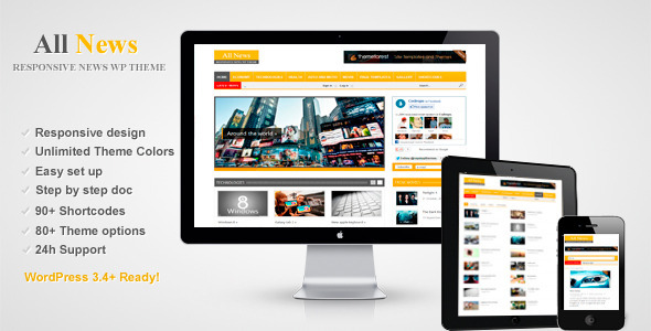 All News – Responsive WordPress News