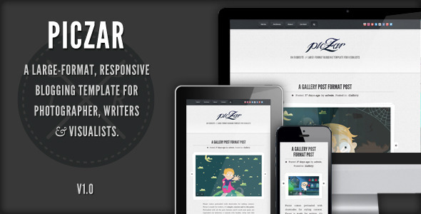Piczar – WordPress Blog Theme
