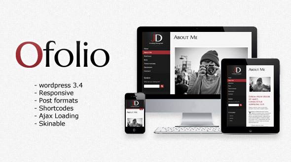 O'Folio – WordPress Responsive Portfolio