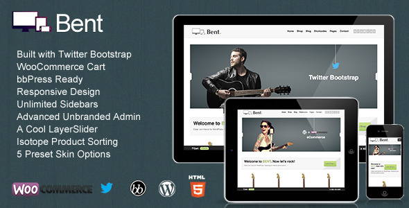 Bent – Responsive WordPress eCommerce