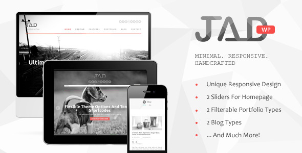 Jad – Creative WordPress Theme