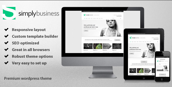 Simply Business – Responsive Multi-Purpose Theme