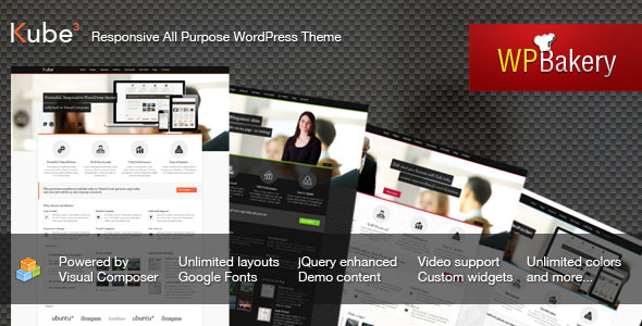 Kube – Responsive All Purpose WordPress Theme