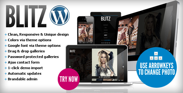 Blitz – Responsive & Unique WordPress Theme