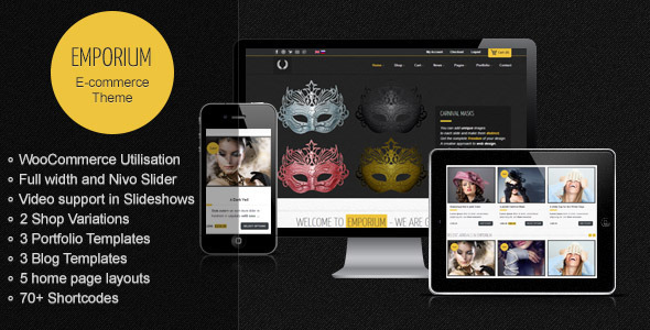 Emporium – Responsive WordPress WooCommerce Theme
