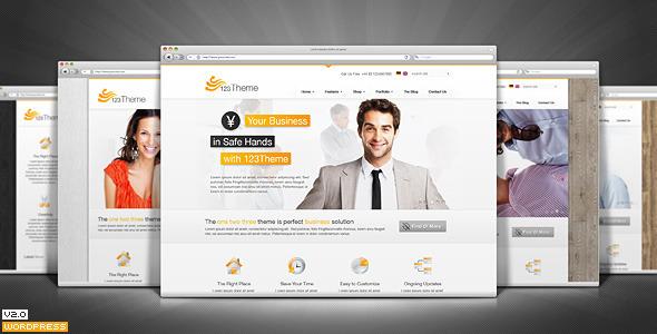 123Theme Business & eCommerce WordPress Theme