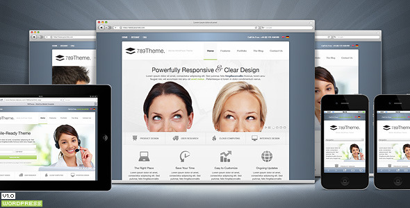 789Theme Premium Responsive WordPress Theme