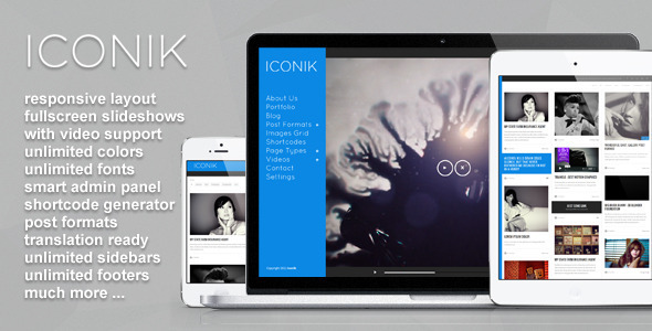 Iconik – Full Experience WordPress Theme
