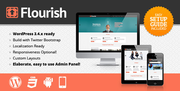 Flourish Responsive WordPress Theme