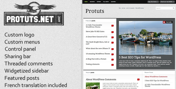 Protuts – Magazine WordPress Theme