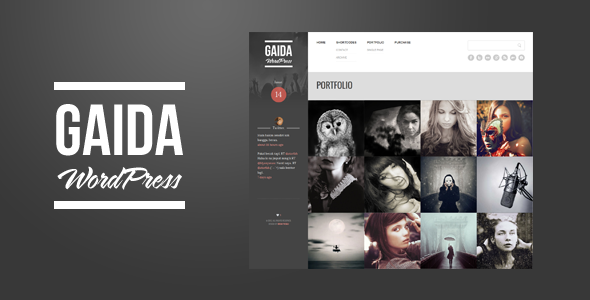 Gaida – Responsive Portfolio WordPress Theme