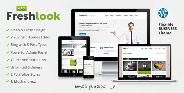 Freshlook – Responsive Multi-Purpose WP Theme