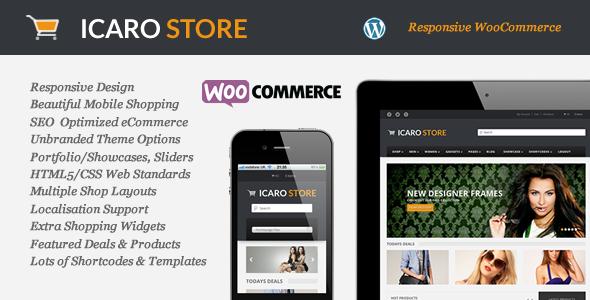 Icarostore – Responsive WooCommerce Theme