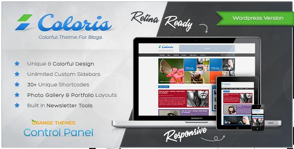 Coloris – Responsive News and Magazine Theme