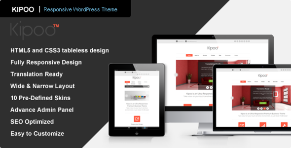 Kipoo – Responsive Business WordPress Theme