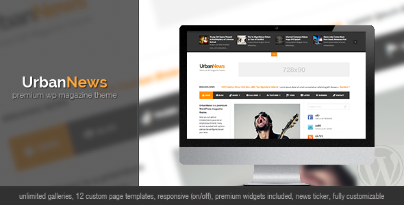 UrbanNews – WP Magazine Theme
