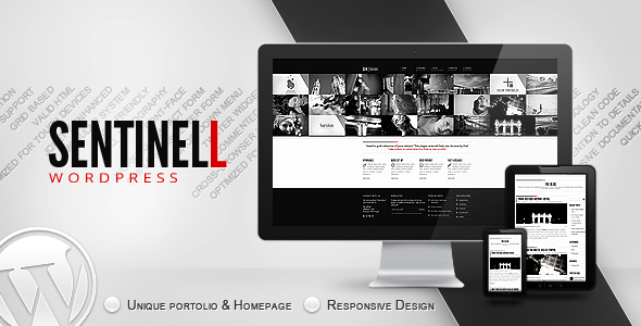 Sentinell – Responsive WordPress Theme