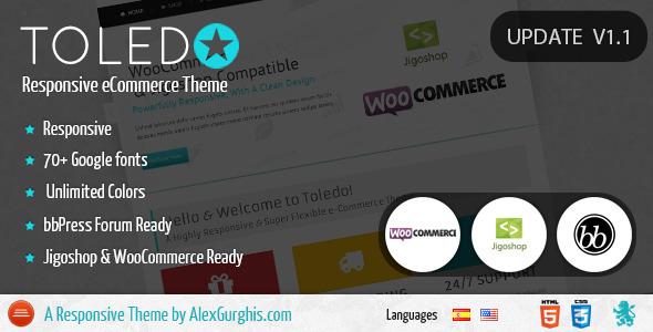 Toledo – Premium eCommerce Theme