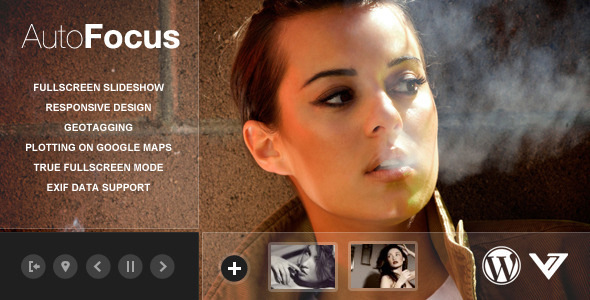 AutoFocus – Photography WP Theme with Geotagging