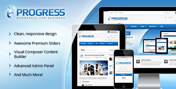 Progress Responsive Multi-Purpose Theme