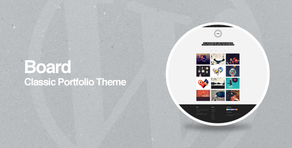 Board – WordPress Portfolio Theme