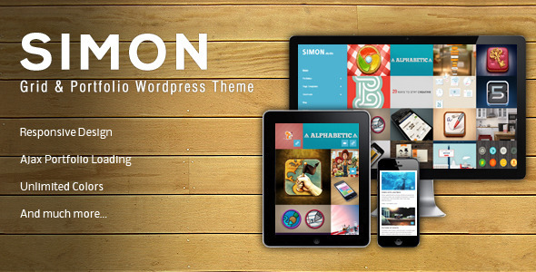 Simon | WordPress & Portfolio Theme
