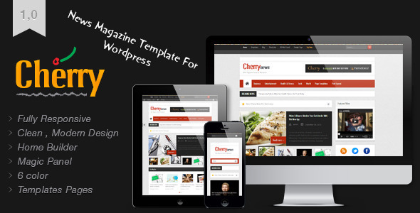 Cherry – Responsive News and Magazine Theme