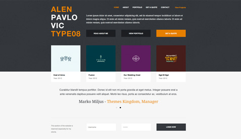 Invo – WP Business theme with invoice system