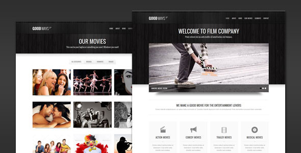 Goodways – Entertainment and Film WordPress Theme