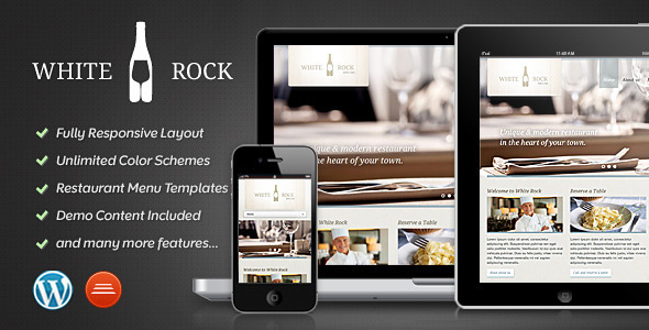 White Rock – Restaurant & Winery Theme