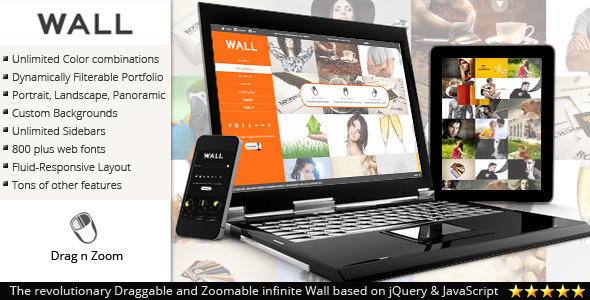 Wall – Responsive theme for WordPress