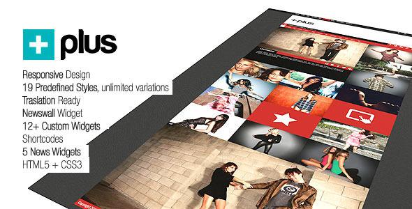 Plus Grid Responsive Multipurpose Magazine