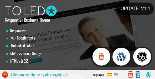 Toledo – Business Responsive Theme