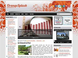 OrangeSplash