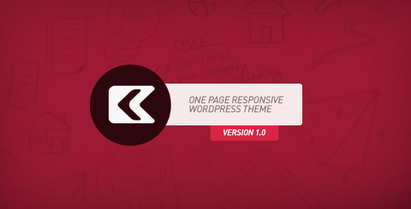Kronos – One Page Responsive WordPress Theme
