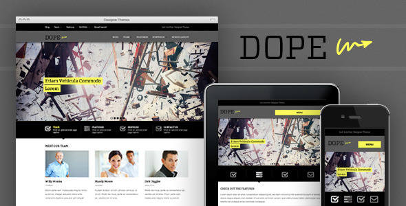 Props, a Responsive Agency WordPress Theme