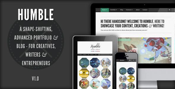 Humble – Responsive WordPress Template