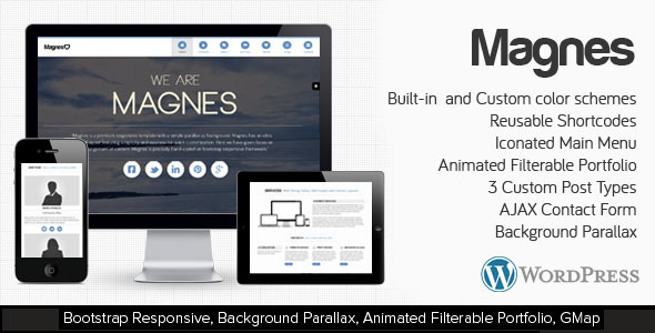 Magnes – WordPress Responsive Clean & Modern Theme