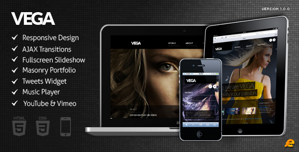 VEGA – WordPress Responsive Theme