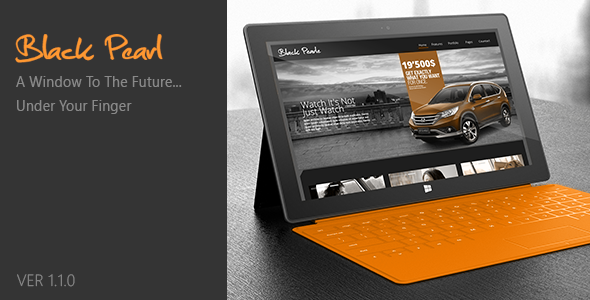 Black Pearl – Responsive WordPress Theme