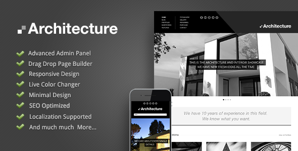 Architecture – Premium WordPress Theme