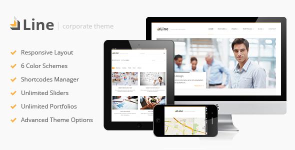 Line – Responsive Corporate WordPress Theme
