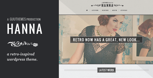 Hanna – Responsive Retro WordPress Theme