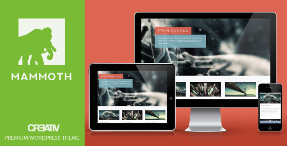Mammoth – Responsive WordPress