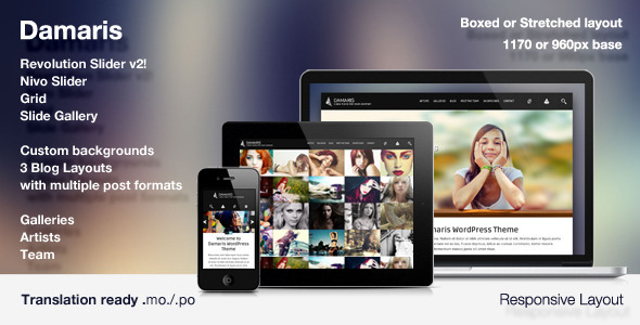 Damaris – Responsive Photo