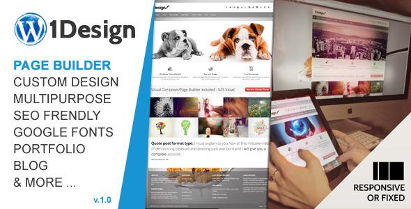 1Design | Responsive Multi-Purpose Theme