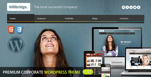 Willbridge – Premium WordPress Theme