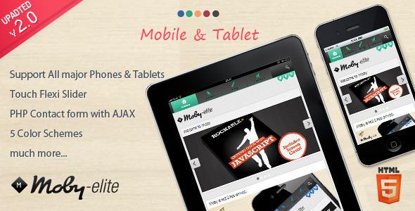 Moby Elite – WordPress Mobile Theme