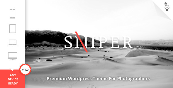 Sniper Premium Photography Theme The Best Free And Premium Wordpress Themes For Download
